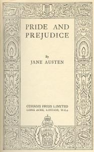 Pride and Prejudice Original Cover