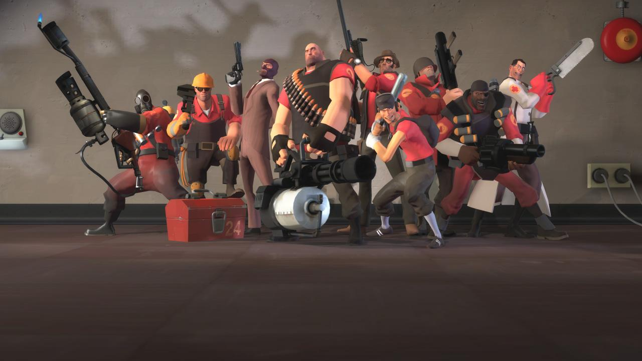 There's no I in Team Fortress