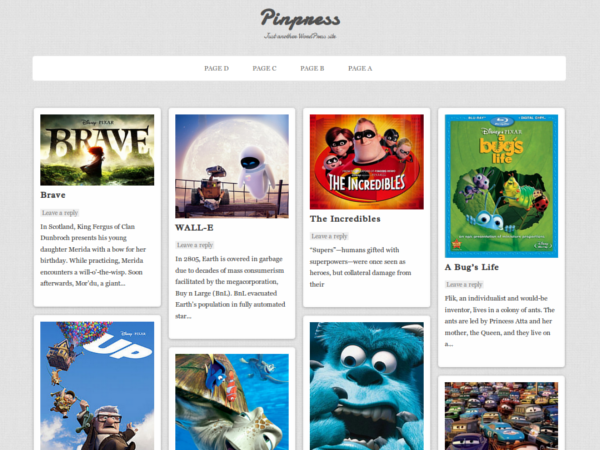 pinpress wordpress theme
