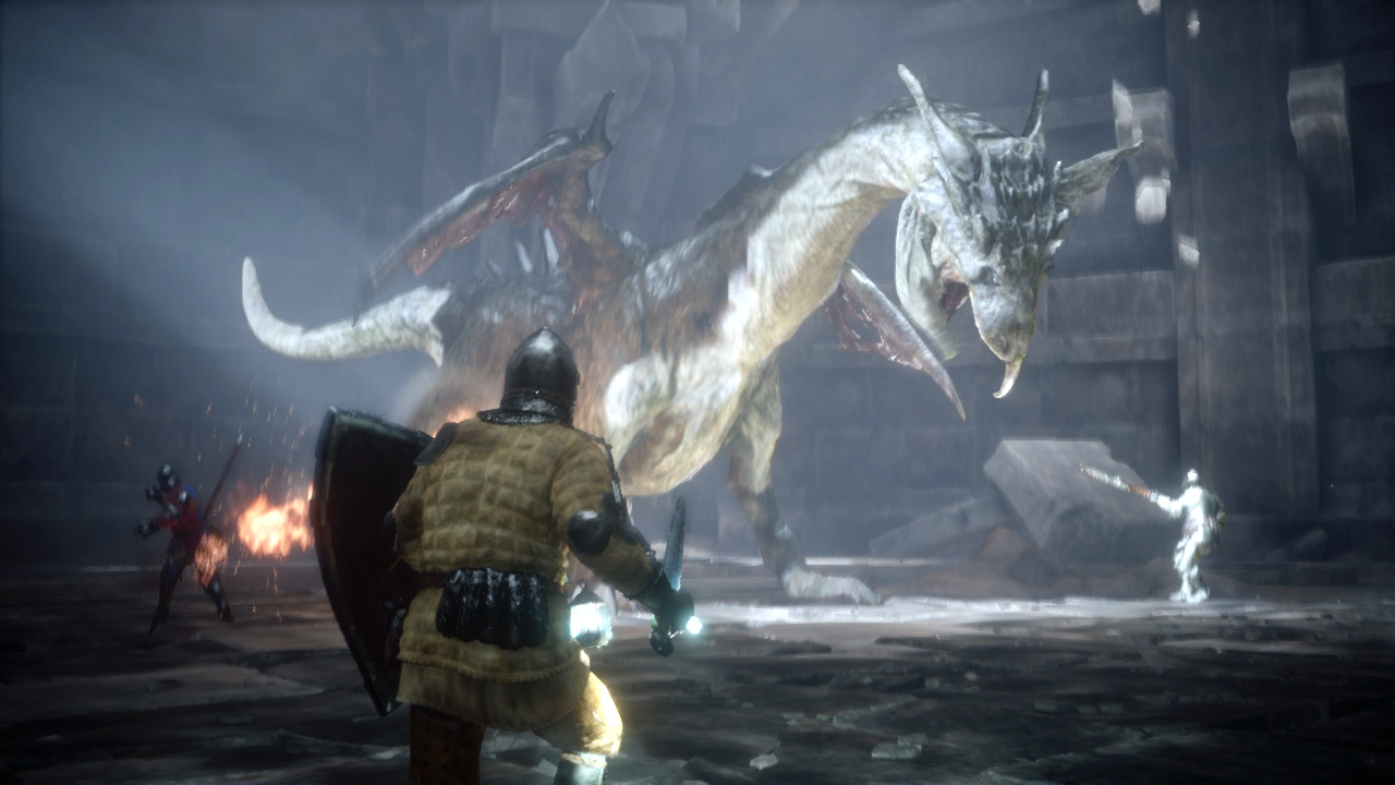 Deep Down Has No Female Characters