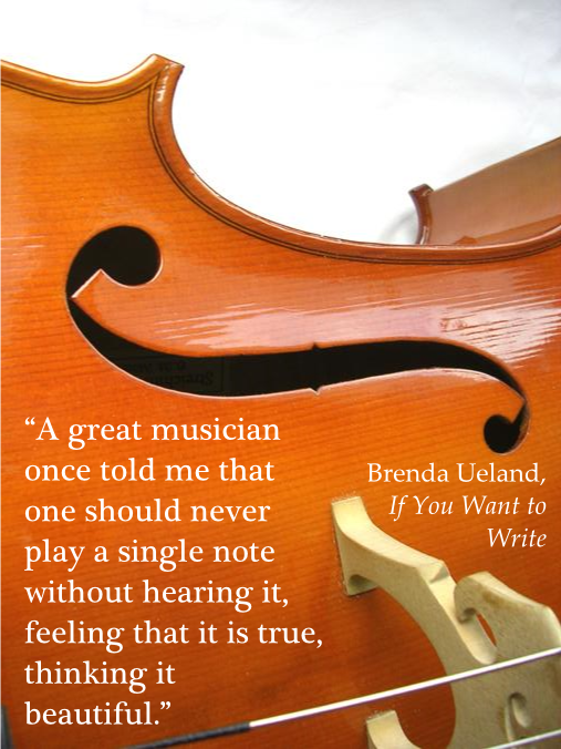 Brenda - A great musician once told me