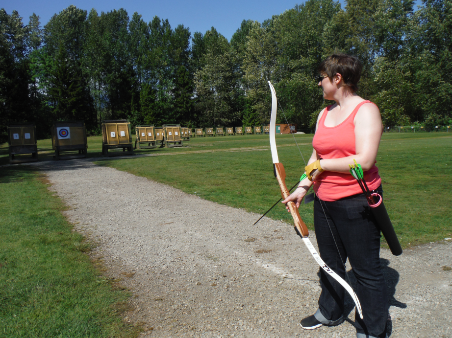More Archery at the Burnaby Range