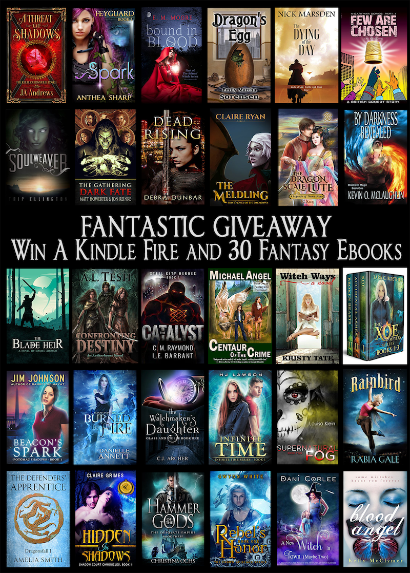 Giveaway time :) Anyone want to win a Kindle Fire?