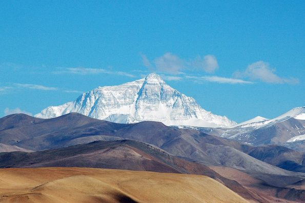 landscape photo of Mt Everest